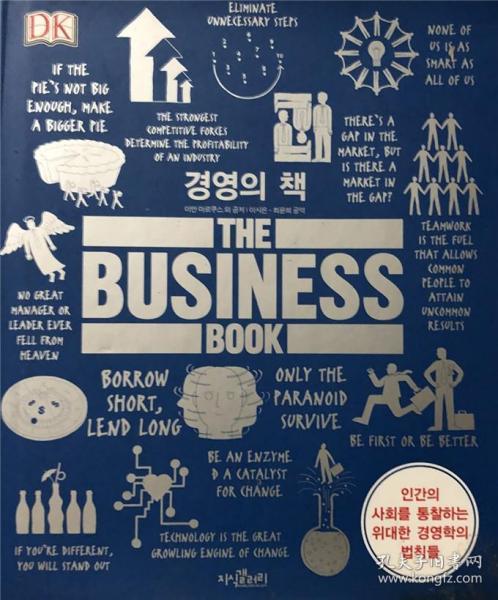 精装 DK the business book 商业手册 韩语