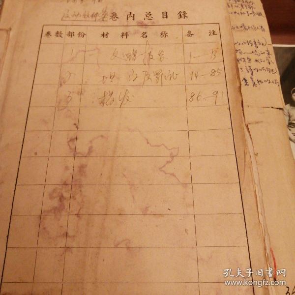 陈显福 历史资料