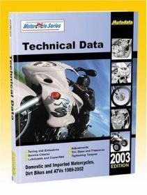 Motorcycle Data Manual/1989-2003 Models (North America) (Autodata Motorcycle Data Manual (North America))-摩托车数据手册/1989-2003车型(北美)(Autodata摩托车数据手册(北。。。