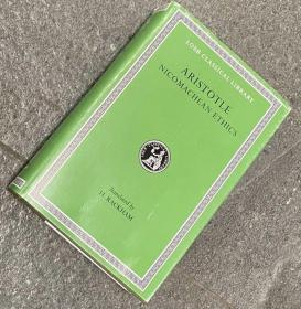 [包邮、希腊文-英文]Aristotle: Nicomachean Ethics(Revised edition) (Loeb Classical Library)亚里士多德:尼各马可伦理学(最新修订版) 洛布丛书