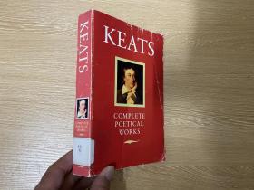 Keats:Poetical Works 济慈诗集,