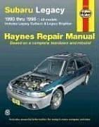 Subaru Legacy, 1990-1998: Includes Legacy Outback and Legacy Brighton (Haynes Manuals)-斯巴鲁遗产,1990年至1998年:包括遗留内陆和遗留布赖顿(海恩斯手册)