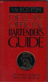 Old Mr. Boston deluxe official bartenders guide-老波士顿先生豪华官方调酒师指南