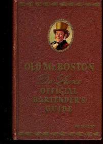 B000IFKFD4 Old Mr. Boston De Luxe Official Bartenders Guide-b00ifkfd4老波士顿先生豪华酒保官方指南