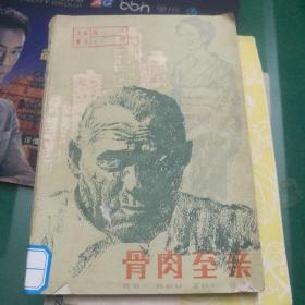 《骨肉至亲》石川达三著金中译湖南人民出版社32开198页日本小说