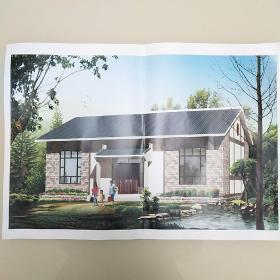 农村自建房建筑设计图纸一套(共9张)