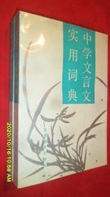中学文言文实用词典(近全品)