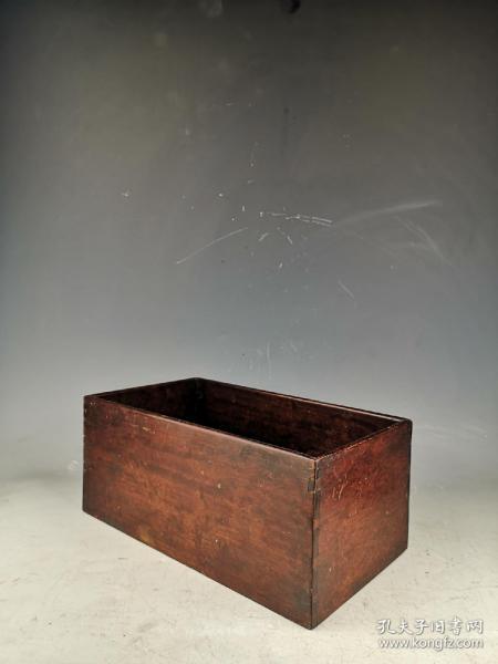 清末民国花梨木文盒