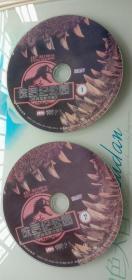 HMV 侏罗纪公园【经典电影全集】(1,2全二碟 HDVD-9)