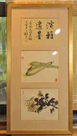 潘君诺—草虫小品两幅