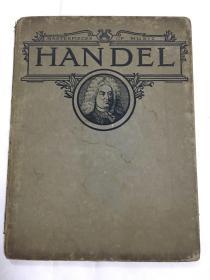 Masterpieces of music HANDEL(杰作的音乐-汉德尔)1913年