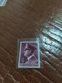 德国邮票 第三帝国邮票 1942 希特勒53岁生日纪念