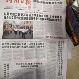河南日报2020年10月16日