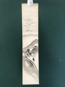 日本回流字画  色纸 短册  1604