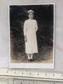 民国抗战时期漂亮的女护士老照片