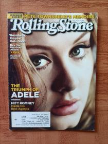 【绝版】【Adele专区】Rolling Stone 2012年10月11日 总第1167期 杂志 非全新