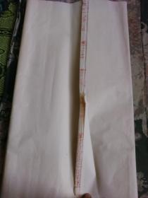 红星牌三尺全开旧宣纸16张合售【货号:K27】自然旧。详见书影。实物拍照