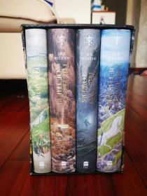 The Hobbit & The Lord of the Rings Illustration HC一版一印 霍比特人& 魔戒三部曲 市场唯一现货