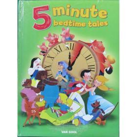 英文原版绘本Five Minute Bedtime Tales五分钟睡前