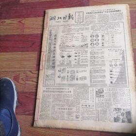 湖北日报合订本1987一8。