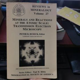 minerals and reactions at the atomic scale:transmission electron microscopy volume27(P3737)