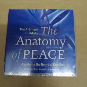 The Anatomy of Peace: Resolving the Heart of Conflict和平剖析:解决冲突的核心(有声书 6CD 塑封)