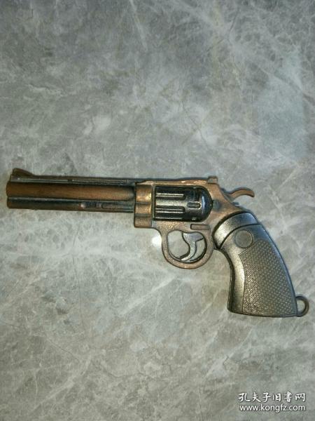 老銅質玩具手槍.