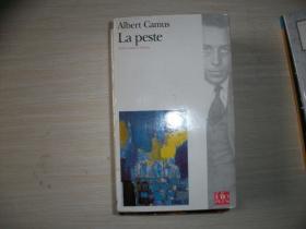 ALBERT CAMUS:LA PESTE【法文版?请自鉴、172】