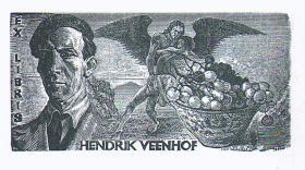荷蘭Peter Lazarov藏書票原作7