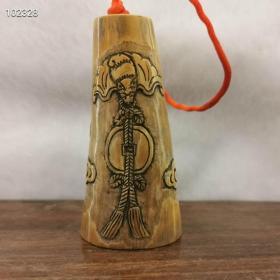 【舊藏】清代時期老象牙掛件一個,保存完整雕工精美細致,包漿渾厚十足有力,皮殼一流完美老道。