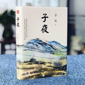 子夜 茅盾著 全集长短篇小说 中国现代名家经典矛盾文学奖 现代长篇文学奖获奖作品