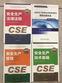 2019中级安全工程师考试用书(道路专业4本)