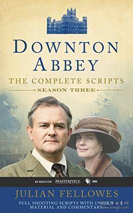 Downton Abbey Script Book Season 3 唐頓莊園劇本第三季 英文原版
