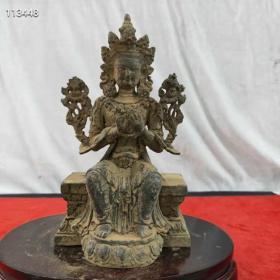 铜西方佛像