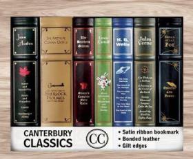 预售坎特伯雷镀金皮革经典套装 Canterbury Classics Box Set