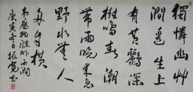 崔振宽书法,,1935年生,陕西省长安人。1960年毕业于西安美术学院国画系,并留校任教;1981年调入陕西国画院。现为中国国家画院研究员、中国美术家协会会员、陕西省美术家协会顾问、西安美术学院客座教授、陕西国画院画家、国家一级美术师。
