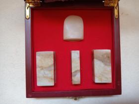 巴淋石章料一盒(四方)