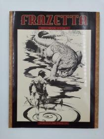Frazetta Sketchbook II  弗拉泽塔速写本II