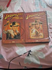 夺宝奇兵三部曲DVD(盒装,带外套盒,三张碟片,分别为:圣战奇兵、夺宝奇兵、魔域奇兵,三部电影,中英双语。)