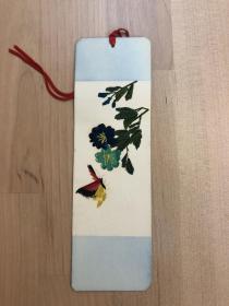 純手工秸稈制作書簽 蝴蝶