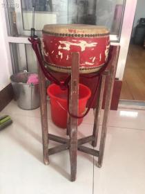 老架子鼓一套、保存完好、能使用!