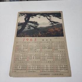 1963年日歷(在143號)