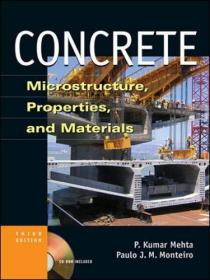 Concrete: Microstructure, Properties, and Materials [With CDROM]-混凝土:微观结构、性能和材料