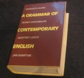 A Grammar Of Contemporary English