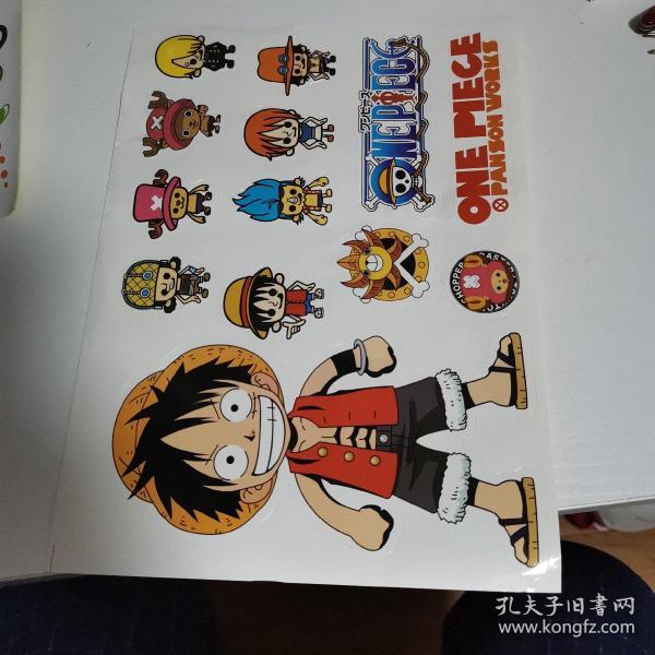 海賊王卡通貼紙