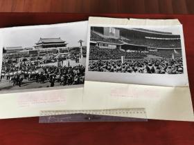 1976反击右倾翻案风的老照片一套35张全,带文字说明