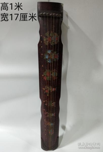 舊藏漆器古琴 ,保存完好            ——10月21日