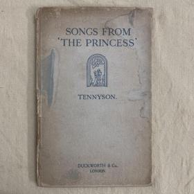特价书籍:丁尼生诗集《公主》Songs From the Princess