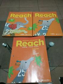英景教育美国本土小学Reach(课程+练习册)3册合售