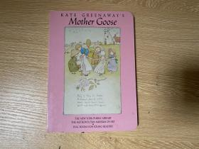 Kate Greenaway's Mother Goose,   漂亮插图,精装